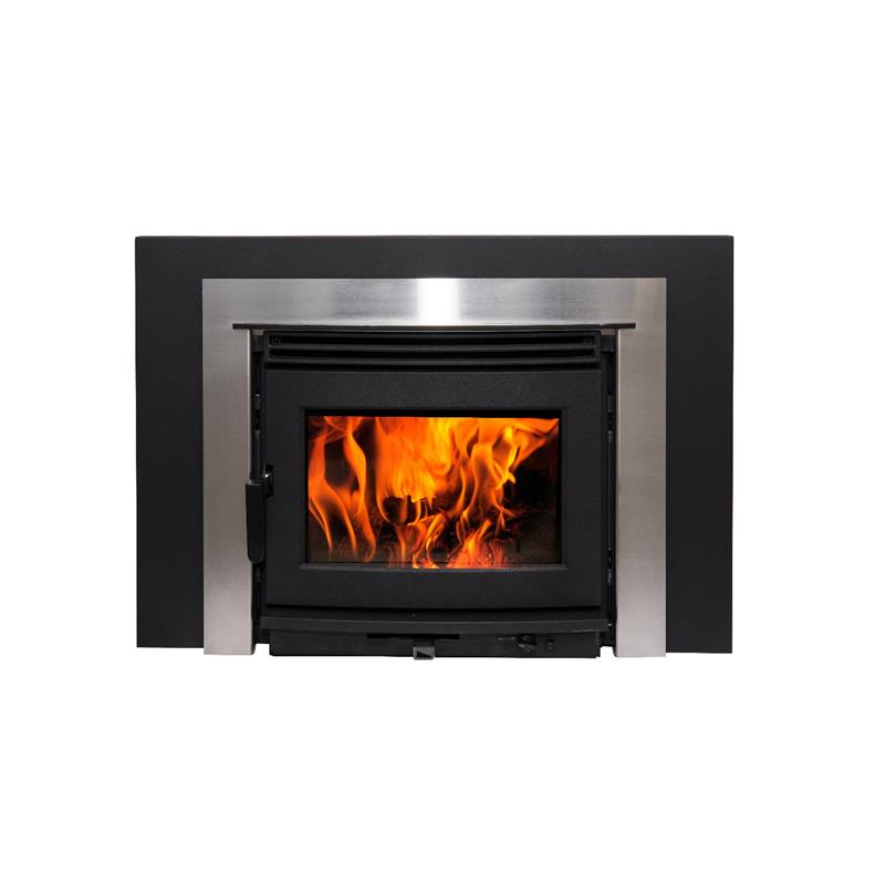 Neo Series Wood Burning Insert Fireplace And Chimney
