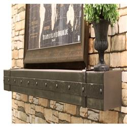 Stoll Decorative Banding Steel Mantel Shelves Fireplace And Chimney Authority