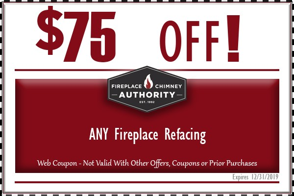 $75 Off Any Fireplace Refacing