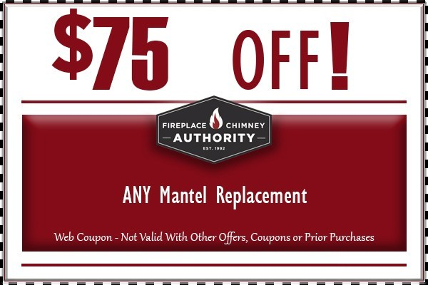 $75 Off Any Mantel Replacement